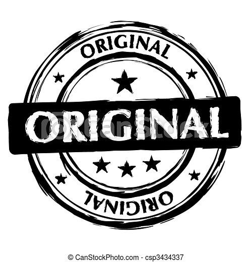 original ink stamp - csp3434337