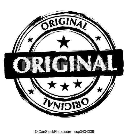 original ink stamp - csp3434338