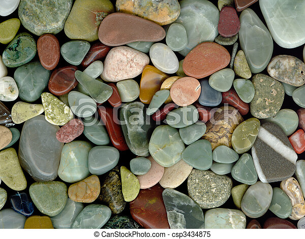 Polished Rocks - csp3434875