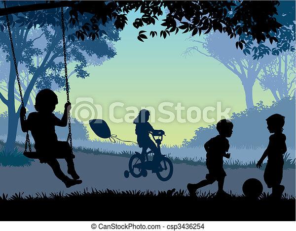 Childhood - csp3436254