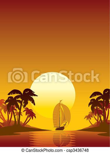 Sailing - csp3436748