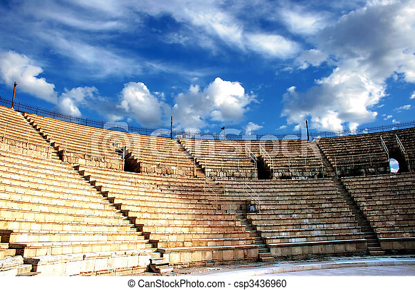Ancient amphitheater - csp3436960