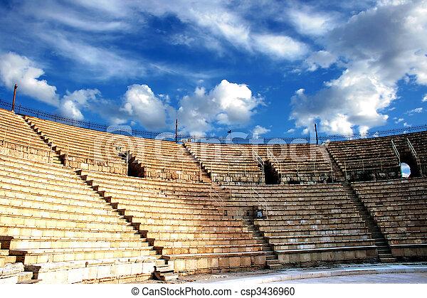 Ancient amphitheater - csp3436960
