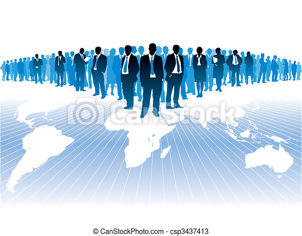 Global business - csp3437413