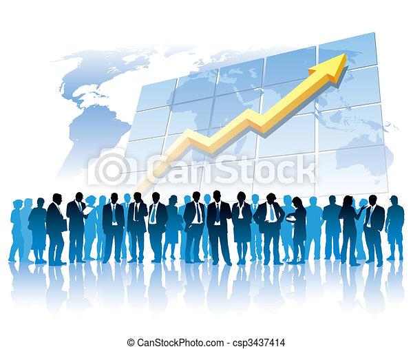 Global business - csp3437414