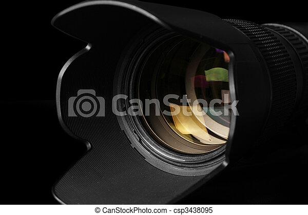 Camera telephoto lens - csp3438095