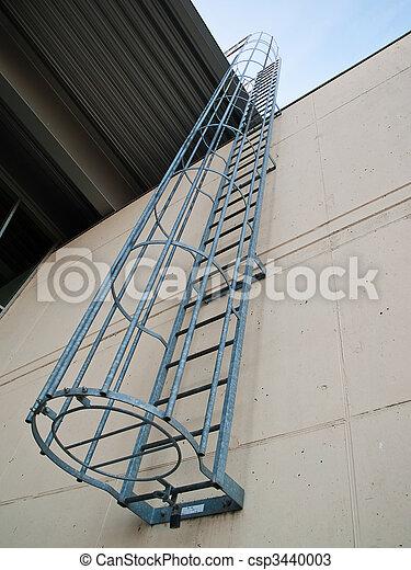 Fire emergency escape ladder - csp3440003