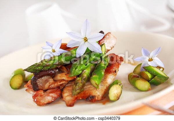 Steak dinner - csp3440379