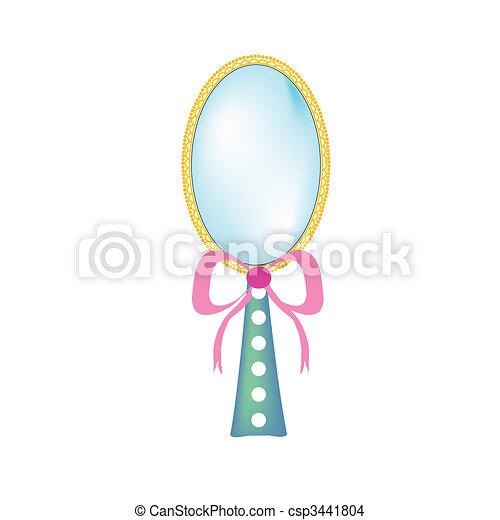 beauty mirror - csp3441804