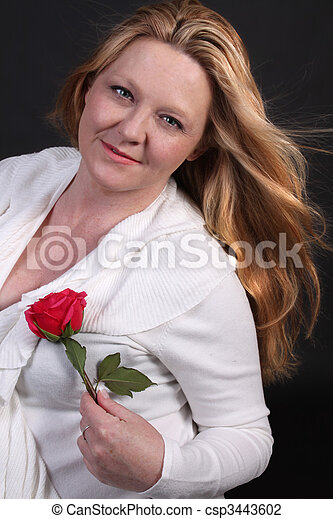 Pretty Irish woman - csp3443602