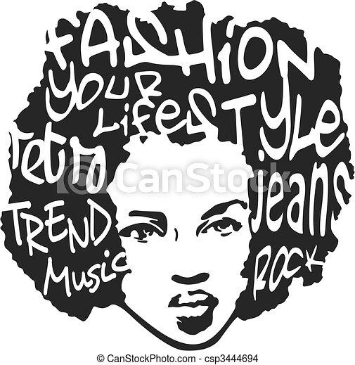 fashion man pop art design - csp3444694