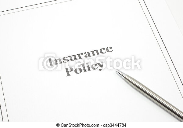 Insurance Policy - csp3444784