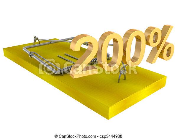 stock illustration mausefalle mit k246der stock