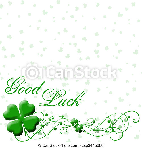 good luck vector - csp3445880