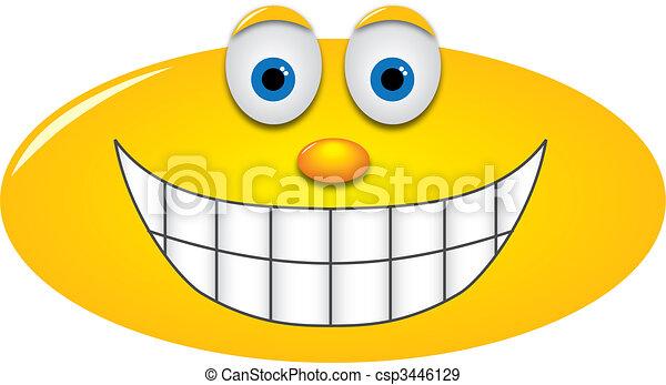 Big grin - csp3446129