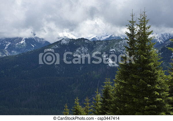 Mountains spring - csp3447414