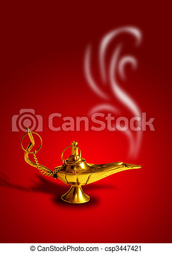 Magic Lamp - csp3447421