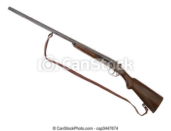 classic hunter\'s gun - csp3447674