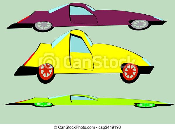 The cars - csp3449190
