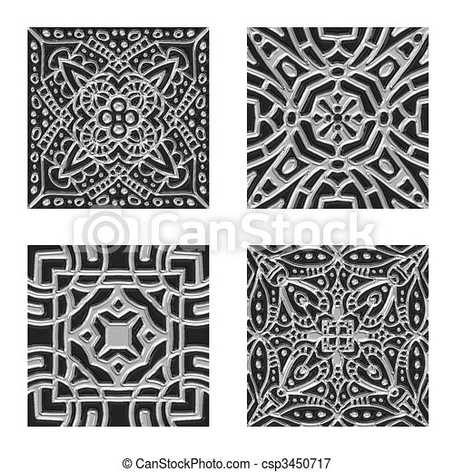 Illustrations de textures d coratif carrelage noir for Texture carrelage noir