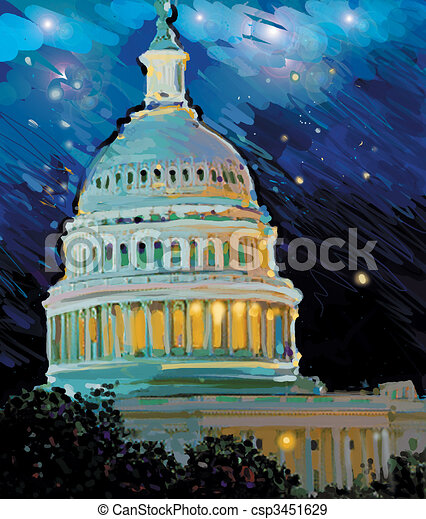 Capital Building - csp3451629