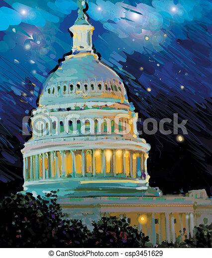 Capital Building - csp3451629