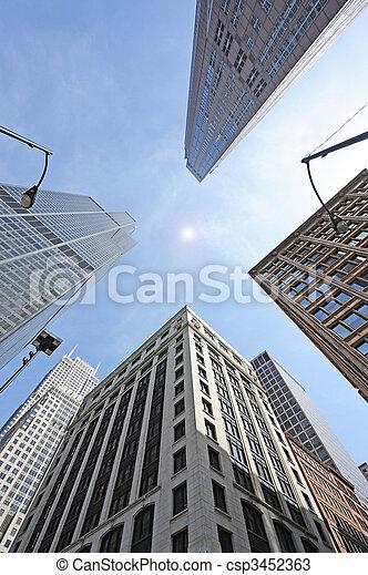 skyscrapers - csp3452363