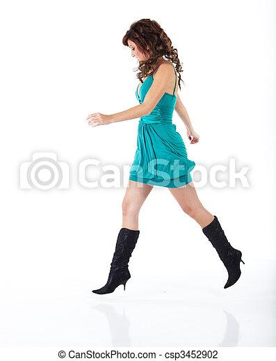 婦女, 年輕, 成人 - csp3452902