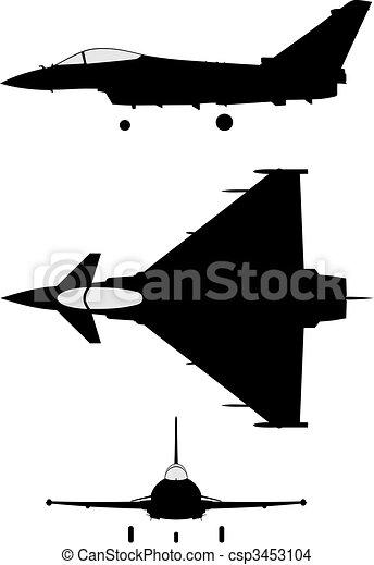 Eurofighter 2000 - csp3453104