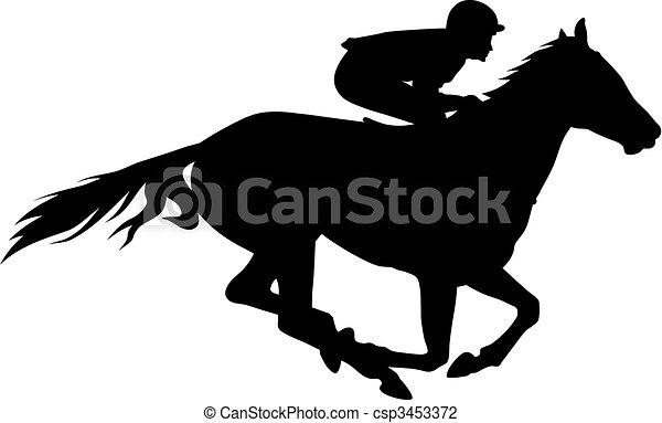 Horse racing - csp3453372
