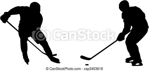 Hockey player - csp3453618