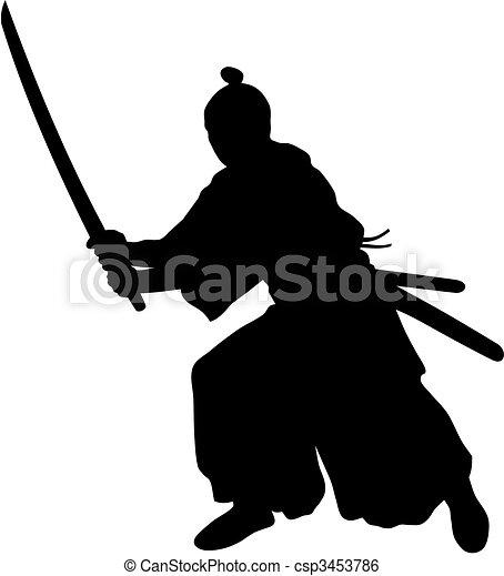 Samurai - csp3453786