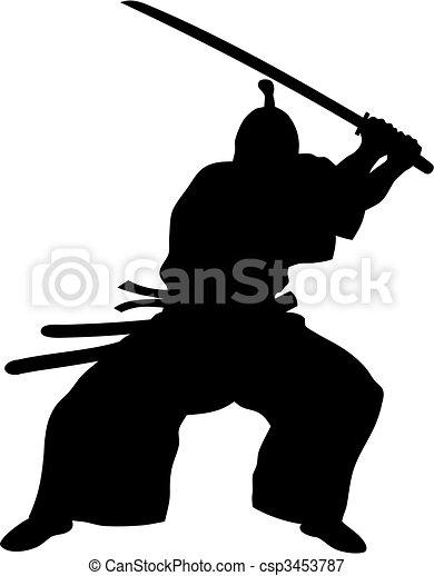 Samurai - csp3453787