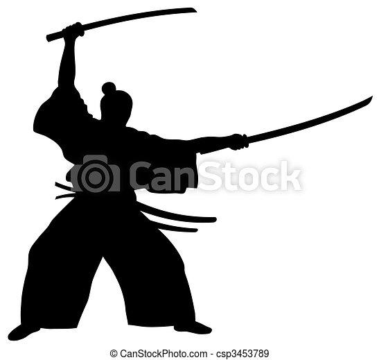 Samurai - csp3453789