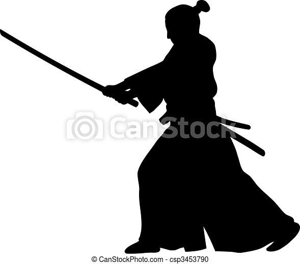 Samurai - csp3453790