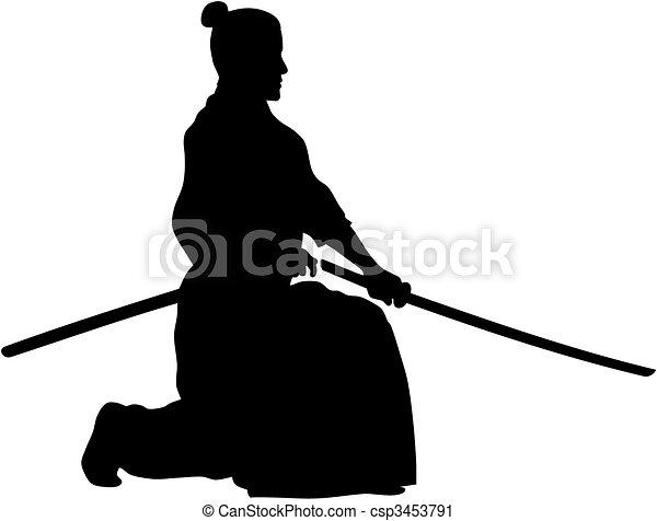 Samurai - csp3453791