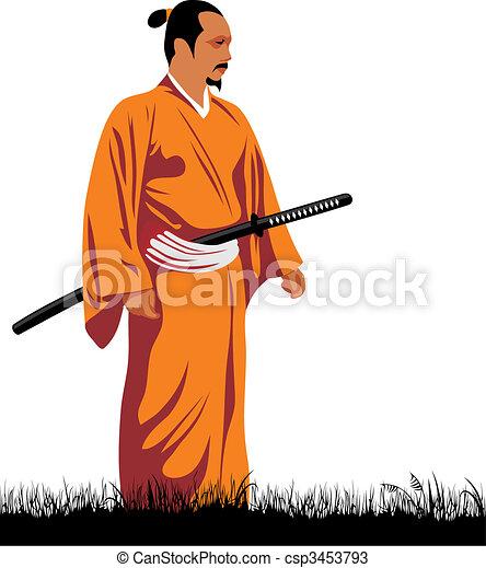 Samurai - csp3453793