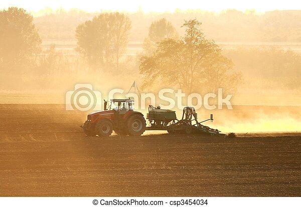 Tractor - csp3454034