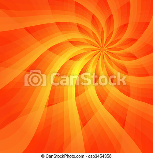 Abstract vivid orange background - csp3454358
