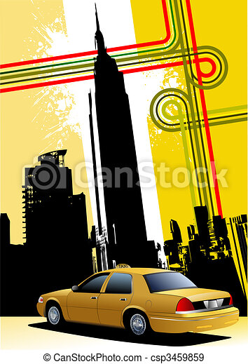 How To Draw A Taxi | Car Drawing For Kids | Pinterest ... |Yellow Taxi Cab Drawing
