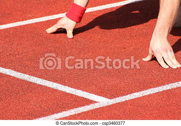 pista, campo, atletismo - csp3460377