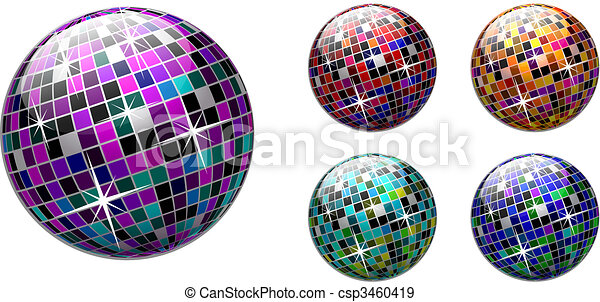 Disco ball - csp3460419