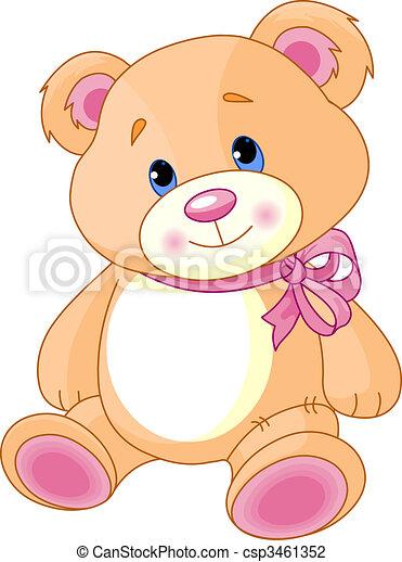 Teddy Bear - csp3461352