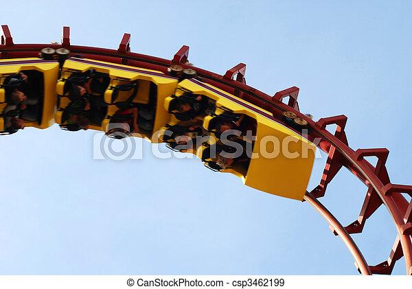 Roller Coaster - csp3462199