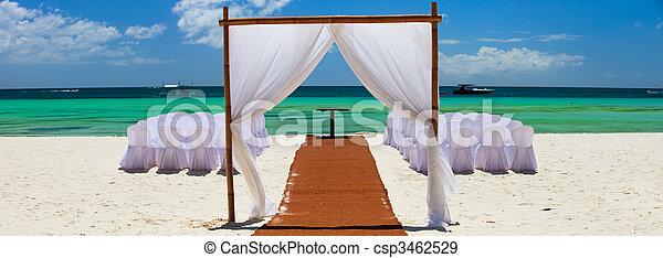 Wedding reception - csp3462529