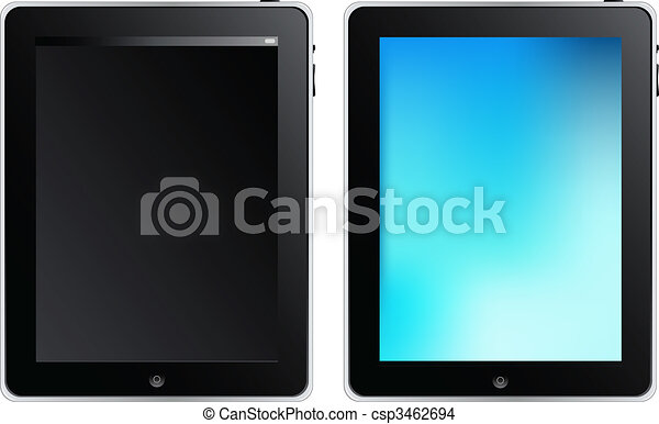 Tablet Touch Computer - csp3462694