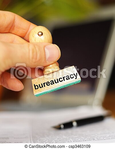 bureaucracy - csp3463109