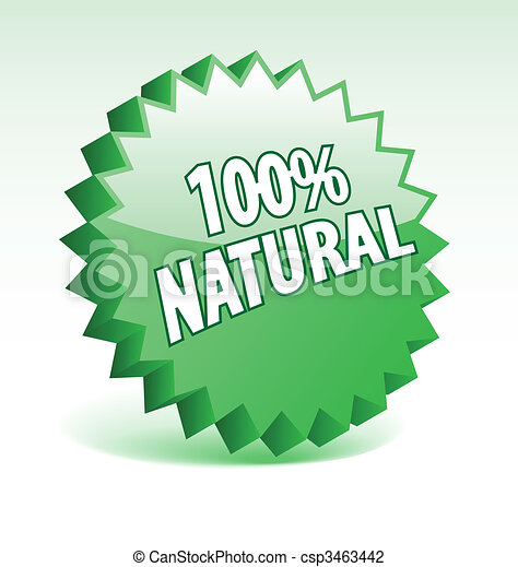 3D green vector badge for promotion, marketing, advertisement. - csp3463442