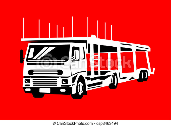 Hauling Illustrations and Clipart. 2,656 Hauling royalty free ...