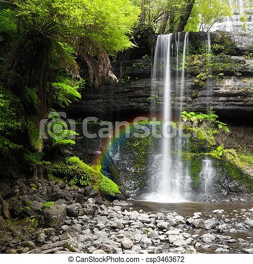 waterfall - csp3463672